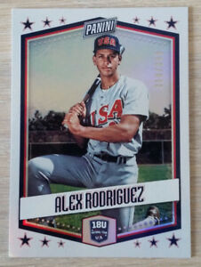 2018 Panini Father's Day #USA7 Alex Rodriguez/399 !! USA !! Baseball
