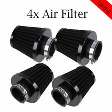 4 Pcs Adjustable 48mm 49mm 50mm Motorcycle Scooter Air Pod Intake Filter Cleaner