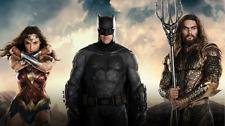 Aquaman Batman Gal Gadot Jason Momoa Silk poster wallpaper 24 X 13 inches