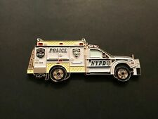 NYPD EMERGENCY SERVICES ESU TRUCK  CHALLENGE COIN