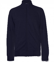 Pierre Cardin Navy Blue Herringbone Full Zip Jacket Mens UK Size Small *REF146