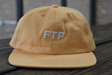 "FTP 6 PANNEL PEACH SNAP BACK PEACH ""F**K THE POPULATION"" RARE SUPREME HUF USA *"