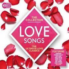 LOVE SONGS The Collection VARIOUS ARTISTS 4 CD DIGIPAK NEW