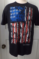 True Honor Men's Black Graphic Print T-Shirt Size XL Live With Honor
