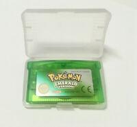 Pokémon Versione Smeraldo For Gameboy Advance GBA SP DS DS-Lite Italiana