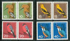Bundespost  401 - 404 postfrisse paren