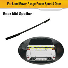 For Land Rover Range Rover Sport 2014UP Carbon Rear Door Tailgate Trunk Molding
