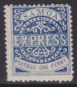 Samoa Express One Penny Mint NH (Q_39)