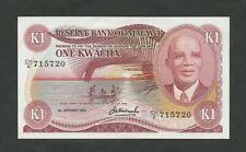 MALAWI  1 kwacha 1983 P14f About Uncirculated Banknotes
