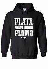 Pablo Escobar Plata O Plomo Drug Lord Men Women Unisex Top Hoodie Sweatshirt 95