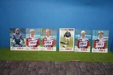 1 FC Kaiserslautern Autograph Cards 6 Piece Top Condition RAR