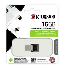 Pendrive 16GB Kingston 16 GB USB 3.0 - DTDUO3/16GB