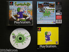 JEU Sony PLAYSTATION PS1 PS2 : LEMMINGS & OH NO ! MORE LEMMINGS (complet, suivi)