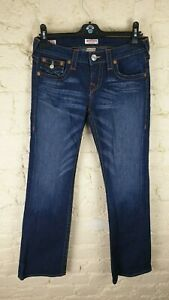 TRUE RELIGION 'Becky' Ladies Boot Cut Jeans Size: W 29 L 30 VERY GOOD Condition