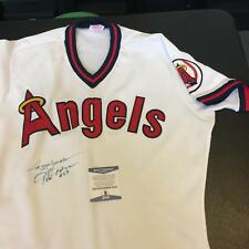 1980's Reggie Jackson & Rod Carew Signed Authentic California Angels Jersey BAS