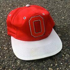 VTG Ohio State University Buckeyes Snapback Hat Cap Block O Logo  Scarlett Grey 24cb5a7c2638