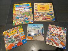 Pappbilderbücher, Suchbilderbücher, Kinderbücher Paket 5 Stück