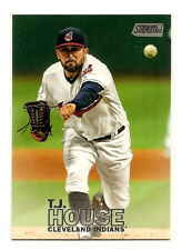 T.J. House Cleveland Indians 2016 Topps Stadium Club #162 Mint