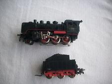 Märklin 3003 - Schlepptender-Dampflok BR 24 -Steppenpferd- der DB