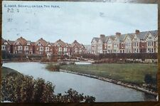 1926 Bexhill-on-Sea, Egerton Park. Photochrom Postcard To: Stockwell