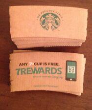 New Starbucks & 7-11 Cup Sleeve 15 - Starbucks 5 - 7-11 Total 20 For 12 - 20 Oz