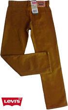 "NWT LEVI'S ""513"" Boys Slim Straight Bronze Brown Jeans(Sizes 14, 18) NEW"