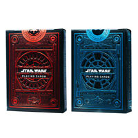 Deck of Cards Star Wars Edition Blue and Red Playing Cards - Pack of 2