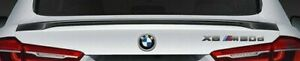 BMW OEM F16 X6 2015+ M Performance Carbon Fiber Rear Wing Spoiler Genuine NEW