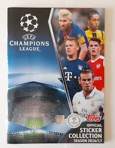 Topps UEFA Champions League 2016 17 Album Figurines Set