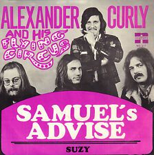 """ALEXANDER CURLY & HIS FLYING CIRCUS – Samuel's Advice (RARE 1972 NEDERPOP 7"""")"""