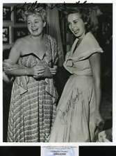 Janet Leigh Shelly Winters PSA DNA Coa Hand Signed 8x10 Photo Autograph