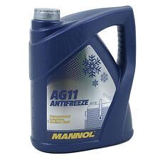 Mannol Kühlerfrostschutz Kühlmittel Antifreeze AG 11 Frostschutz 5L // MN4111-5