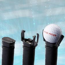 Black Golf Ball Pick Up Tool Back Saver Putter Pitch Grip Retriever Grabber、Fad