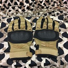New Valken Zulu Full Finger Tactical Paintball Gloves - Tan - Large
