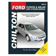 2006-2014 Ford Fusion Mercury Milan Chilton Repair Service WorkShop Manual 22274