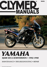 Clymer Repair Service Shop Manual Vintage Yamaha XJ600 S Seca 2, XJ600 Diversion