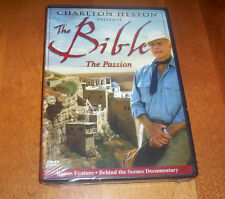 THE BIBLE Charlton Heston Presents the Bible - The Passion Classic DVD NEW