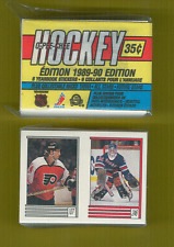 1989-90 OPee Chee Hockey Sticker Set Mint