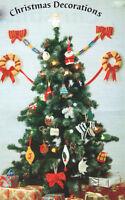 Bumper Xmas Tree Decorations Knitting Pattern See Pics
