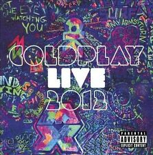 CD & DVD Set Live 2012 Coldplay Sealed ! New ! 2012