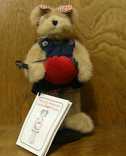 """Boyds Plush #90501 Serendipity Wishkabibble, 10"""" Bear. NEW/Tag From Retail Store"""