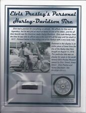 Elvis Presley Personal Owned Used Harley Davidson Tire Tread - Jay Leno's Garage