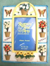 "Regency Fine Arts Topiary Picture Frame for 2"" X 3"" Photo Brand New"