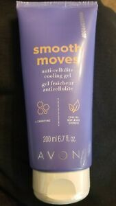 AVON NAKEDPROOF Smooth Moves Anti-Cellulite Cooling Gel ~ 6.7 FL OZ ~ NEW!