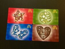 ???? CANADA  ???? MCDONALD GIFT CARD  ----- SET OF 4 PCS. ---- NEW