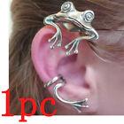 Fashion Silver Lovely Frog Animal Earrings Ear Hook Women Ethnic Jewelry Gifts