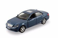 """RMZ city Mercedez Benz E63 AMG 1:36 scale 5"""" diecast model car Blue R05"""