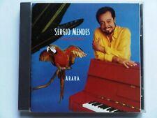SERGIO MENDES ARARA RARE & OOP CD AOR WESTCOAST TOTO NATHAN EAST KEVYN LETTAU