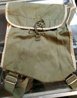Vintage Hikers Pack Green Canvas OD Backpack Boy Scouts WFS No.180 Japan