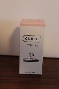 NIB New 'CURED' by Julep Take a Breather- .74-Oz. - Sheer Pearl